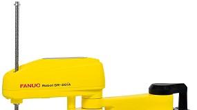 Foto de Novo Scara Fanuc SR-20iA combina design robusto e compacto com elevada capacidade de carga