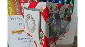 Foto de Escolares madrileños crean un purificador de aire para pequeños espacios