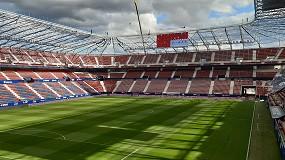 Foto de El estadio del CA Osasuna equipa con asientos rail seat sus gradas de animación