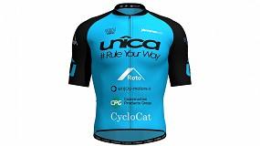 Foto de El equipo ciclista 'UNÎCA Cycling Team', empieza a rodar