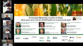 Foto de La VI Jornada 'Costes y Eficiencia del Maíz' ofreció las claves para optimizar la productividad de este cultivo estratégico en el regadío