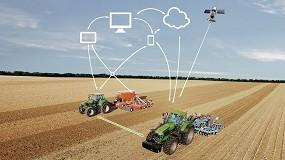 Foto de Deutz-Fahr 'conecta' sus tractores TTV de alta potencia