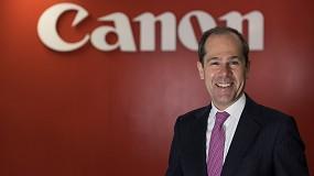 Foto de Javier Tabernero, nuevo consejero delegado de Canon en España y Portugal