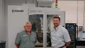 Foto de Un fabricante de herramientas de la región de los Grandes Lagos confía en Vollmer