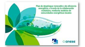 Foto de Anese y CIDE definen un plan de integración de renovables y eficiencia energética a partir de comunidades energéticas locales