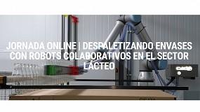Foto de Universal Robots explica cómo aplicar con éxito la robótica colaborativa en el sector lácteo