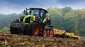 Foto de Claas extiende el sistema de asistencia CEMOS a los tractores Axion 930/960 Terra Trac