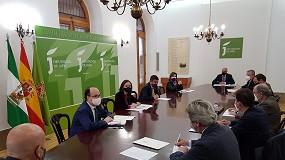 Foto de Envasadores analizan con el gobierno y la Diputación de Jaén la supresión de los aranceles en EE UU