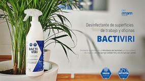 Foto de Itram Higiene lanza el desinfectante bactericida, fungicida y virucida Bactrivi