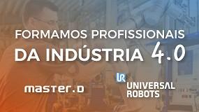 Foto de Master D e Universal Robots estabelecem parceria para promover a formação em robótica colaborativa