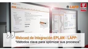 Foto de Lapp y Eplan organizan la conferencia online Métodos clave para optimizar sus procesos
