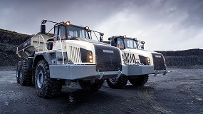 Foto de Terex Trucks presenta sus nuevos dumpers articulados Stage V
