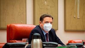 Foto de El ministro Planas informa de las negociaciones de la PAC y la oposición pide más concreción