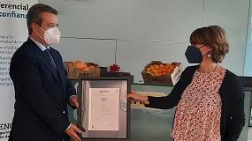 Foto de Earmur recibe el certificado Residuo Cero de Aenor