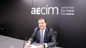 Foto de Entrevista a Luis Collado, presidente de AECIM