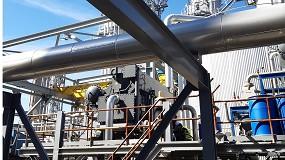 Foto de Nueva instalación de frío por absorción en una industria papelera realizada por Kromschroeder S.A.