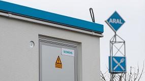Foto de Siemens e Aral preparam estações de serviço para a mobilidade do futuro