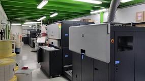 Foto de Eadec instala una segunda prensa digital Indigo WS6800