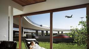 Foto de Como combinar segurança, isolamento sonoro e transmissão de luz num edifício?