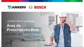 Foto de Nueva área web de prescriptores de Junkers-Bosch