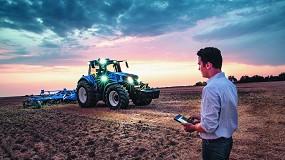 Foto de New Holland actualiza la plataforma MyPLM Connect Farm