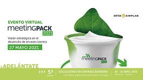 Foto de MeetingPack virtual 2021 abordará la sostenibilidad de los envases y la incorporación del material reciclado en su programa