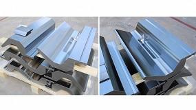 Foto de Metalmaq envía a Estonia 4 m de punzones especiales con amarre Bystronic