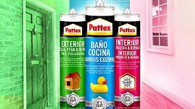 Foto de Pattex lanza una nueva gama de selladores pensados para el bricolaje