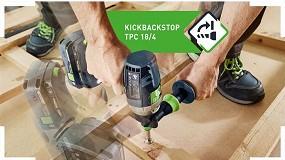 Foto de Nueva tecnología KickbackStop de Festool: no más peligrosos contragolpes
