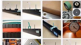 Foto de Elementos para paletização e despaletização em mesas de transporte de garrafas (ficha de produto)