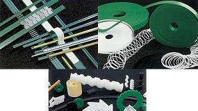 Foto de Perfis de polietileno e plásticos técnicos: material termoplástico (Polietileno-UHMW) de peso molecular muito elevado (ficha de produto)