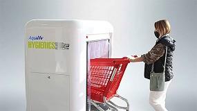 Foto de Desinfeção de carro de supermercado (ficha de produto)
