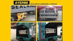 Foto de Nueva gama de generadores adaptables a vehículos desarrollada por Ayerbe