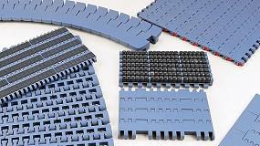 Foto de Esteiras modulares: para as principais aplicações na indústria de engarrafamento, embalagens e alimentos (ficha de produto)