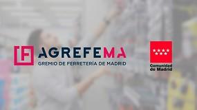 Foto de Convenio entre Agrefema y la Comunidad de Madrid para impulsar la competitividad e innovación en el sector de la ferretería