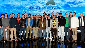 Foto de Argo Tractors sitúa la educación y formación de jóvenes en el centro de sus objetivos