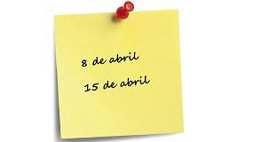 Foto de Calendario de encuentros virtuales de Aefyt para el mes de abril