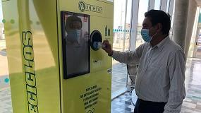 Foto de Ecoembes y Baleària impulsan el reciclaje con fines sociales en las estaciones marítimas de València y Dénia