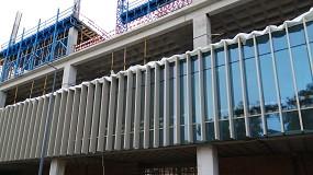 Foto de Jofebar presente nos projetos EXEO e WTC em Lisboa com a sua fachada modular e as poliamidas Technoform