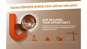 Foto de Cancelada la edición de este año de Bauma Conexpo Africa