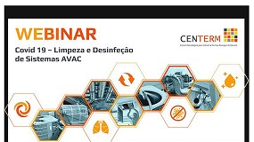 Foto de Covid-19: Centerm promove webinar sobre limpeza e desinfeção de sistemas AVAC