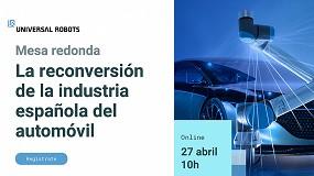 Foto de Universal Robots analiza el papel de los cobots en la reconversión de la industria del automóvil en España