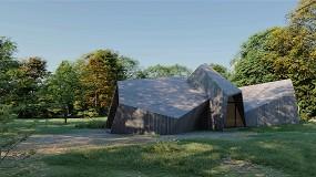 Foto de Construção modular: projeto UNUS HOUSE com soluções Saint-Gobain