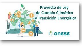 Foto de ANESE confía en la Ley de Cambio Climático y Transición Energética por su fuerte apuesta en la eficiencia energética