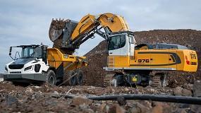 Foto de Dos nuevas excavadoras libre de emisiones de Liebherr: las excavadoras eléctricas sobre cadenas R 976-E y R 980 SME-E