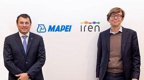 Foto de Acuerdo de economía circular entre las empresas Mapei e Iren para reutilizar polímeros reciclados en las infraestructura viales