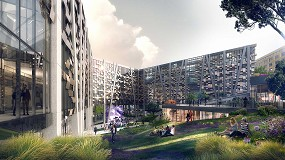 Foto de Edificios de consumo casi nulo con sistemas de carpintería y fachadas Technal y Wicona e Hydro Circal