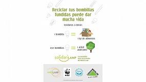Foto de Leroy Merlin y Ambilamp donarán más de 68.000 kilos de comida y plantarán árboles autóctonos sracias a la campaña Solidarilamp