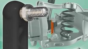 Foto de Maior durabilidade em pontos oscilantes: novo tirante elástico com articulações duplas da igus