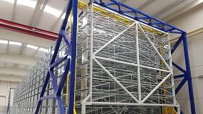 Foto de Puesta en marcha de un almacén automático para perfiles extruidos de aluminio en Sevilla